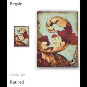 Retired Sid Dickens Memory tile No T203